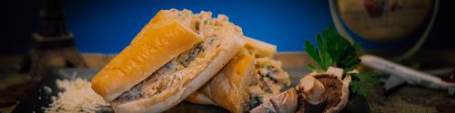 سندويشات خبز فرنسي