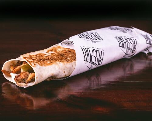 The Passport Shawarma Sandwich